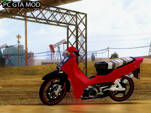 Free Download Yamaha F1ZR Stock Mod for GTA San Andreas.