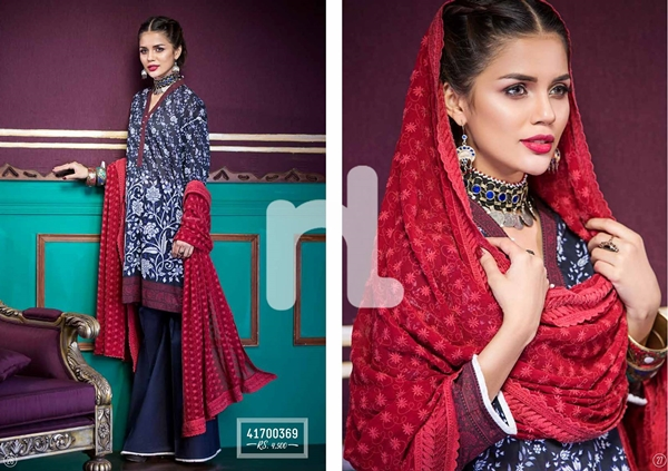 Nishat Linen NL Festive Collection 2017 Eid Catalog