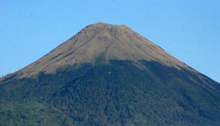 Gunung penangungn - mendaki gunung via Tamiajeng