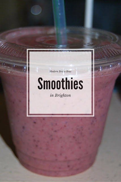 A Guide to smoothies in Brighton, photo by Modern Bric a Brac