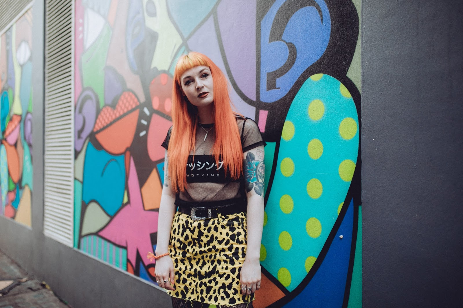 Alternative Fashion Blogger Foxxtailz