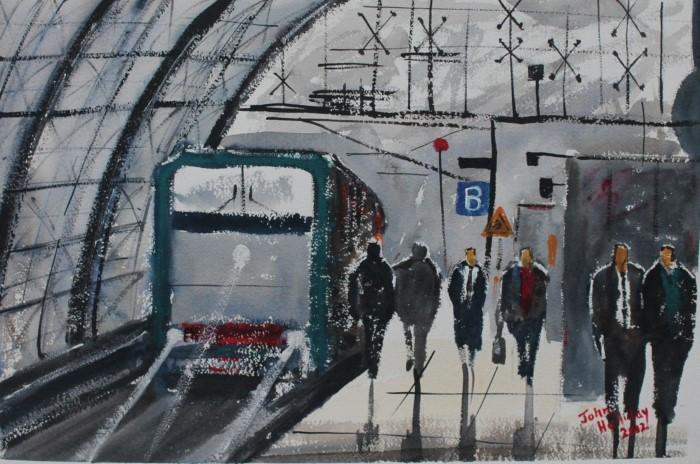 Британский художник. John Halliday 6