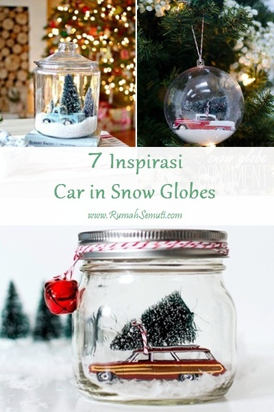 7 Inspirasi Car in Snow Globes