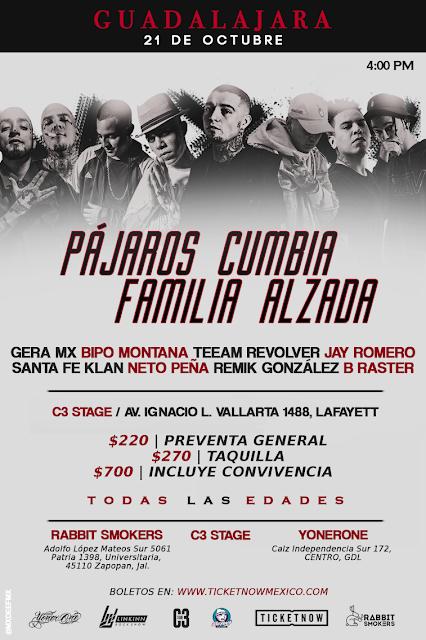 Los Pájaros cumbia & Familia Alzada