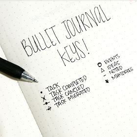 contoh key bullet journal indonesia
