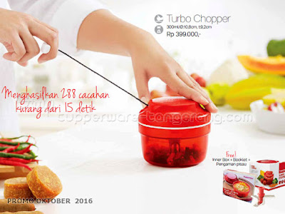 Turbo Chopper ~ Tupperware Promo Oktober 2016