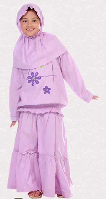 Desain Baju Muslim Anak Perempuan Terpopuler