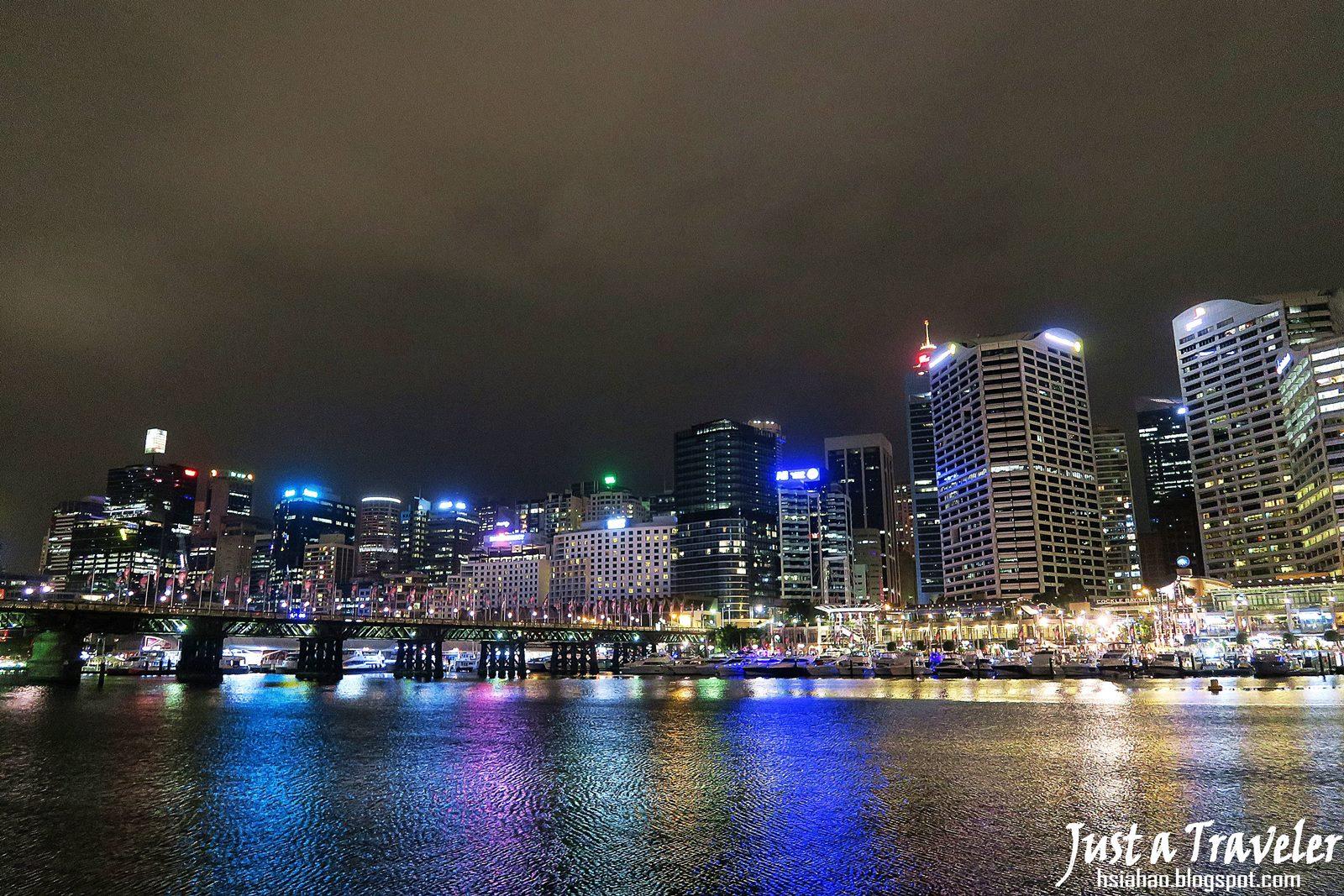 雪梨-景點-推薦-達令港-夜景-自由行-行程-旅遊-澳洲-Sydney-Darling-Harbour-Tourist-Attraction-Travel