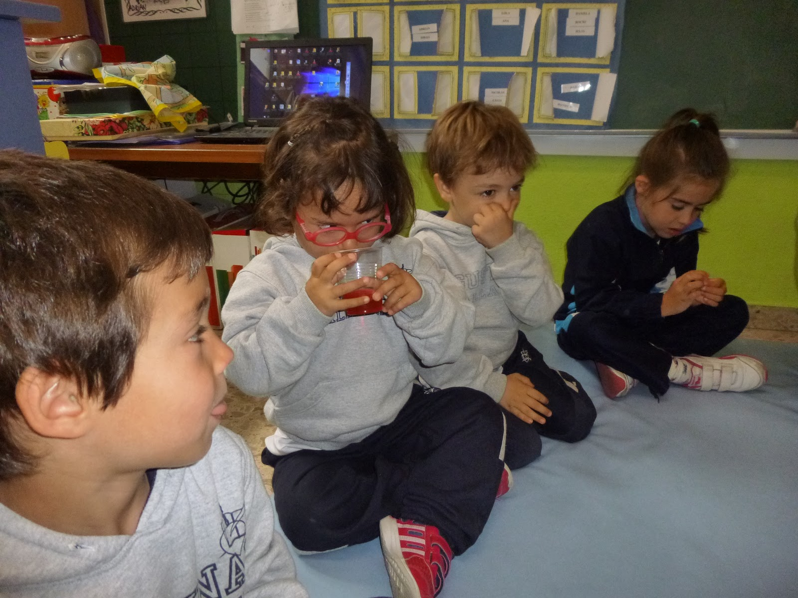 Agustinas Valladolid - 2017 - Infantil 4 - Taller Consumo 1