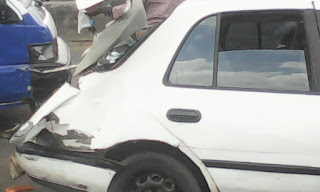 Photos: Fuel Tanker Rams Into Vehicles In Port Harcourt (NGLatest Exclusive)