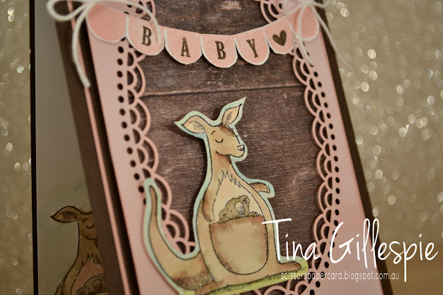 scissorspapercard, Stampin' Up!, Art With Heart, Colour Creations, Animal Outing, Pick A Pennant, Wood Textures DSP, Delightfully Detailed SDSP