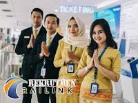 Lowongan Kerja di BUMN PT Railink (Kereta Api Bandar) Terbaru 2019