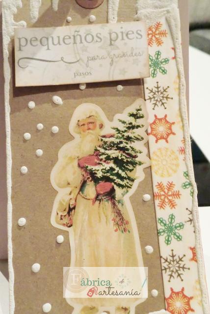 Tag San Nicolás vestido de blanco