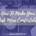 Writing Tips: How to Make Your Desk More Comfortable