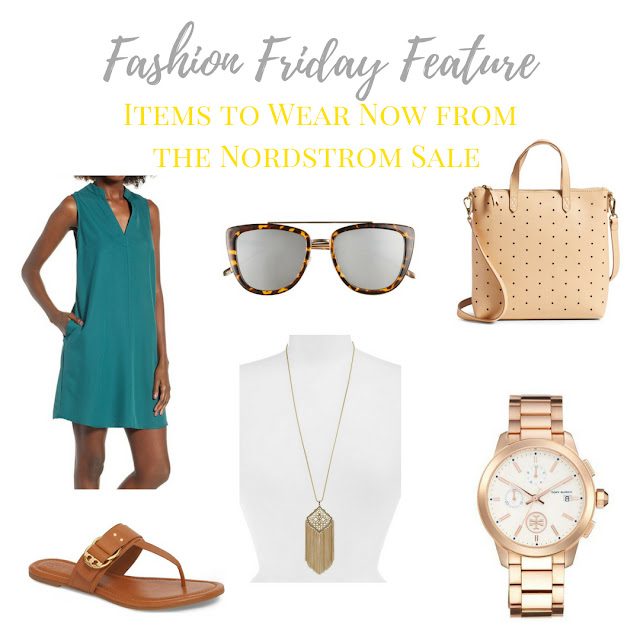 These items from the Nordstrom Anniversary Sale can be worn now in the summer and transition into the fall when the weather cools down | www.livingyoungandheathy.com