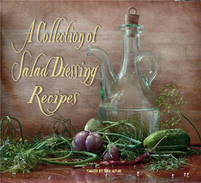 Gina's Italian Kitchen: Collection of Salad Dressing Recipes