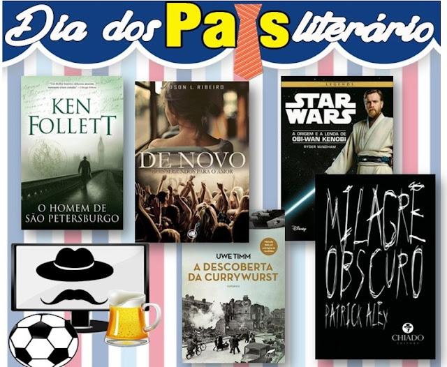 kit2 Promoção | Dia dos pais literário