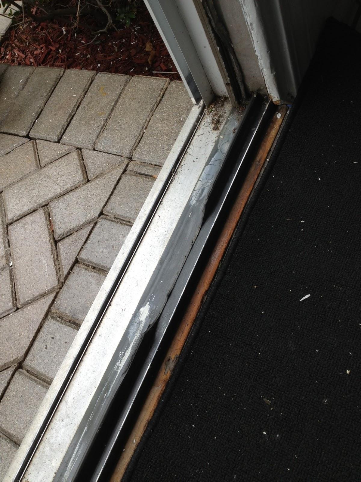 Sliding Patio Doors Repair Of Plastic Door Track
