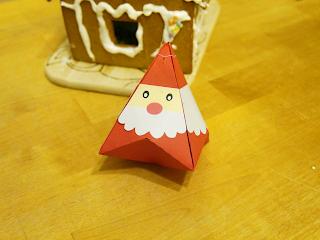Plotterdatei Weihnachtsmann Schachtel