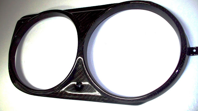 retro-spec/datsun 510: RETRO-SPEC CARBON FIBER HEADLIGHT BEZEL