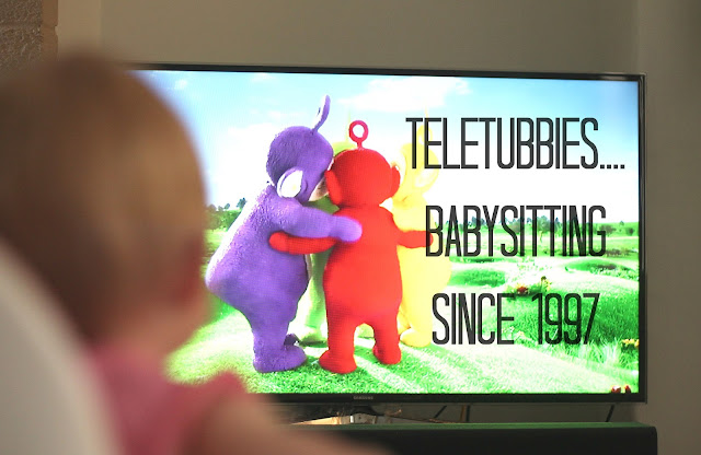 teletubbies babysitting since 1997 baby watching teletubbies