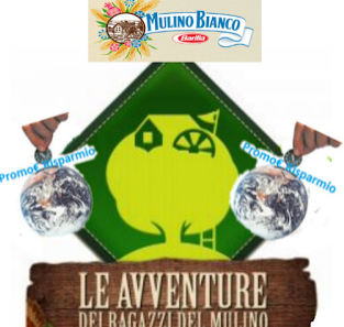 Logo Premi sicuri Sacca Avventura omaggio da Mulino Bianco e vinci sacco a pelo Salewa