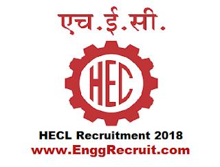 HECL Recruitment 2018