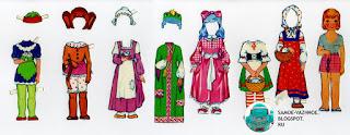 Бумажные куклы Карнавал СССР мальчик девочка. Бумажные куклы карнавальные костюмы СССР советские.