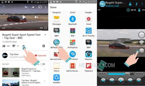 Cara Memperlambat Video YouTube di Android