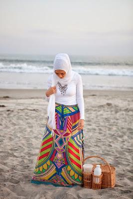 kostum pantai hijabers jadi seperti Jilbob