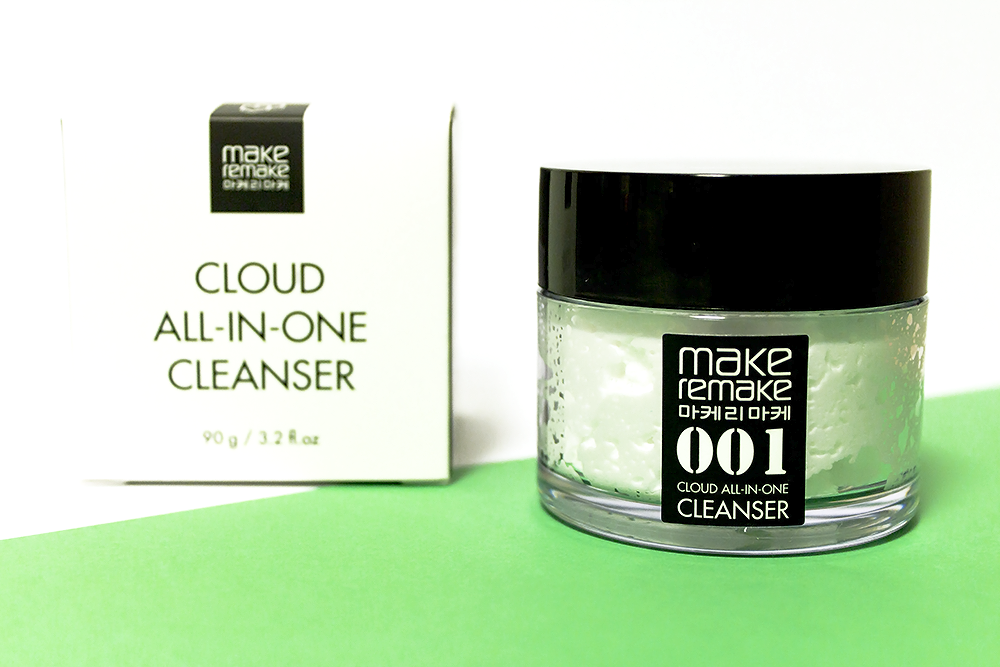 Make Remake Cloud All In One Cleanser review