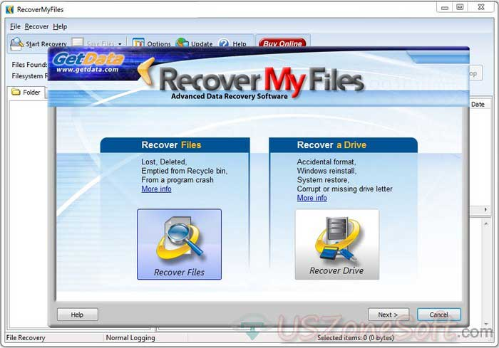 Recover My Files full version download