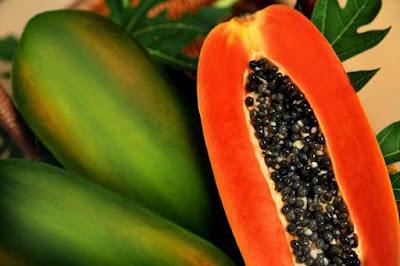 Mengecilkan perut buncit dengan buah pepaya
