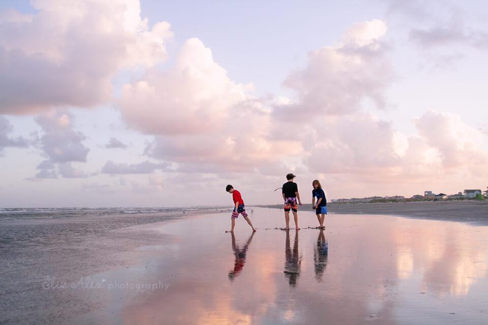 woodlands photographer galveston beach