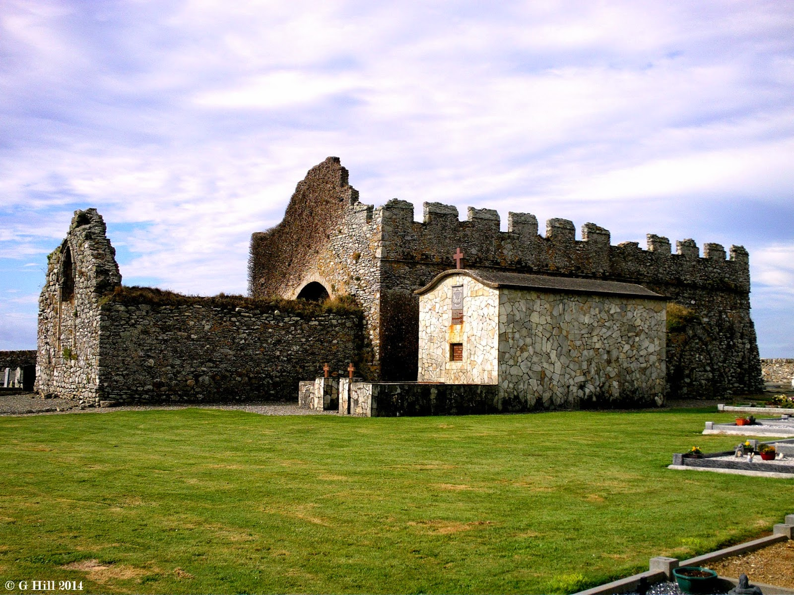Ireland In Ruins Old Bannow Church Co Wexford