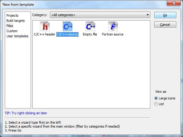 Coding Bahasa C/C++ Menggunakan Code::Blocks