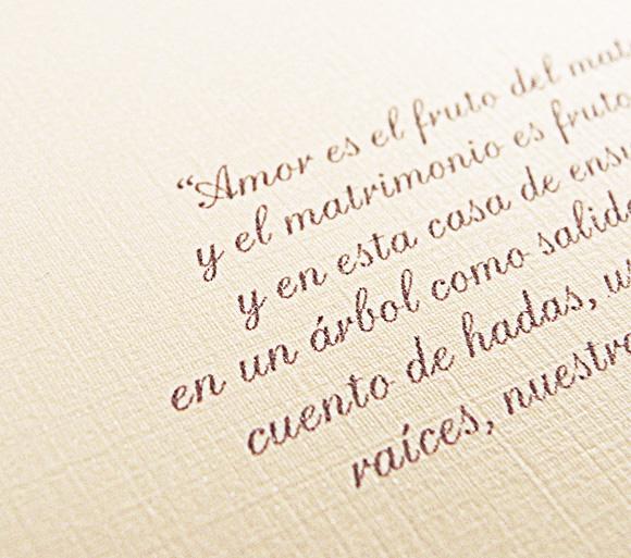 Pliegues Diseño En Papel Frases Para Partes De Matrimonio