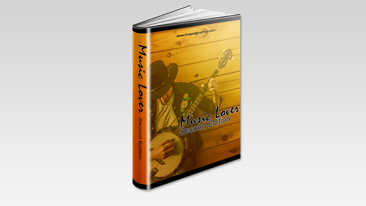 Music Free Ebook Cover Template - Free PSD Graphics