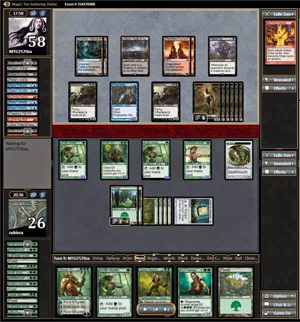 Magic the Gathering Adventures: [Modern] Elves Version 3 in