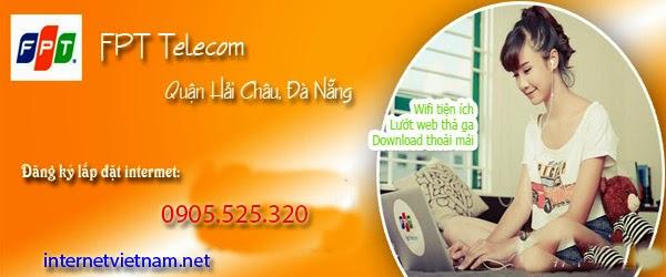 Lắp Đặt Internet FPT Phường Hoà Thuận Tây