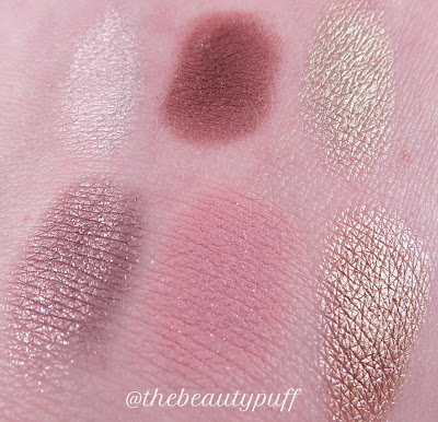colourpop mondays in malibu swatches - the beauty puff