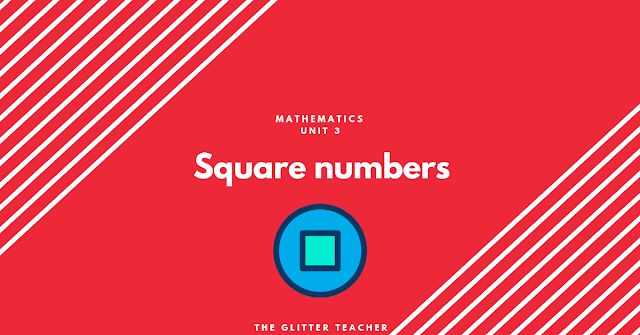 Square numbers. Maths Year 6