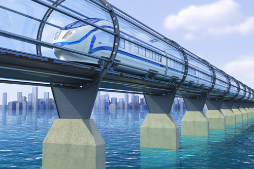 Hyperloop Future Science Fiction