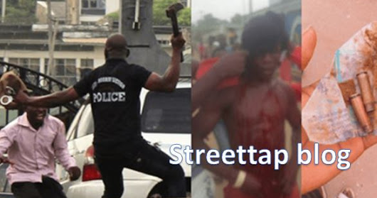 IS THIS REAL?? POLICE USES CUTLASS AND OTHER DEADLY WEAPONS ON STUDENTS AND STAFFS PROTESTING