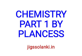 CHEMISTRY STUDY MATERIAL PART 1 BY PLANCESS