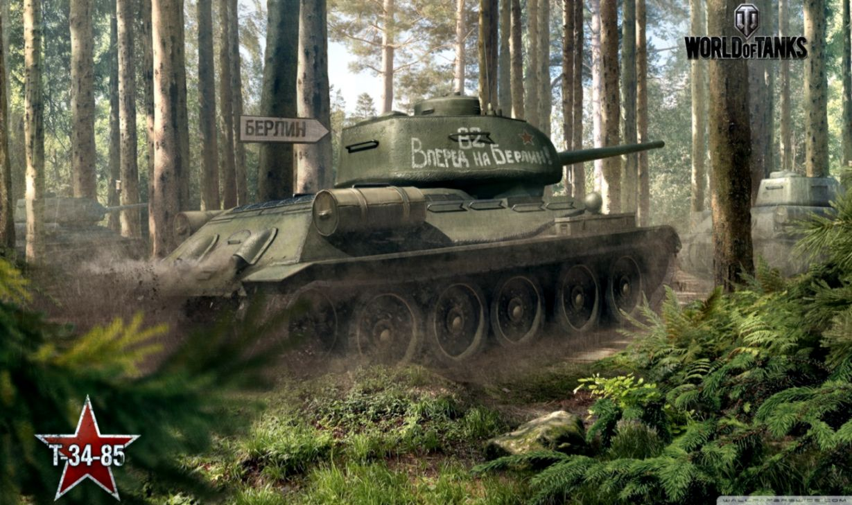 World Of Tanks Wallpaper T 34 T 34 85 Find Wallpapers