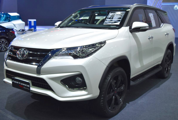 Mobil Toyota Fortuner Tulungagung