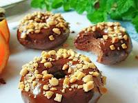 Resep Kue Donat Coklat Lembut dan Mengembang Sempurna