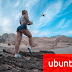 Wallpaper Ubuntu Girl Drone