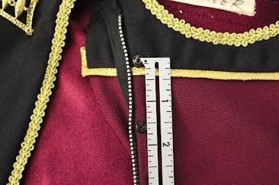 TNG season 1 admiral jacket - snaps